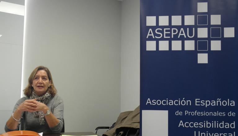 Cristina Rodríguez Porrero durante la ponencia