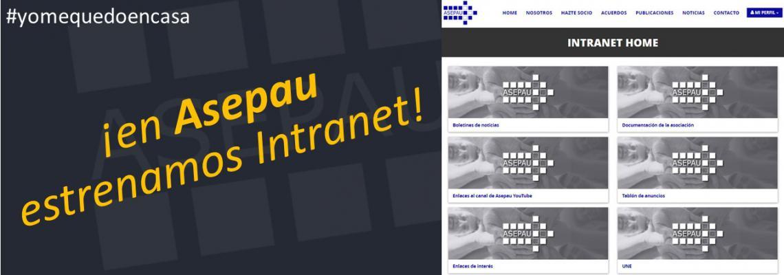 imagen de la intranet de la web