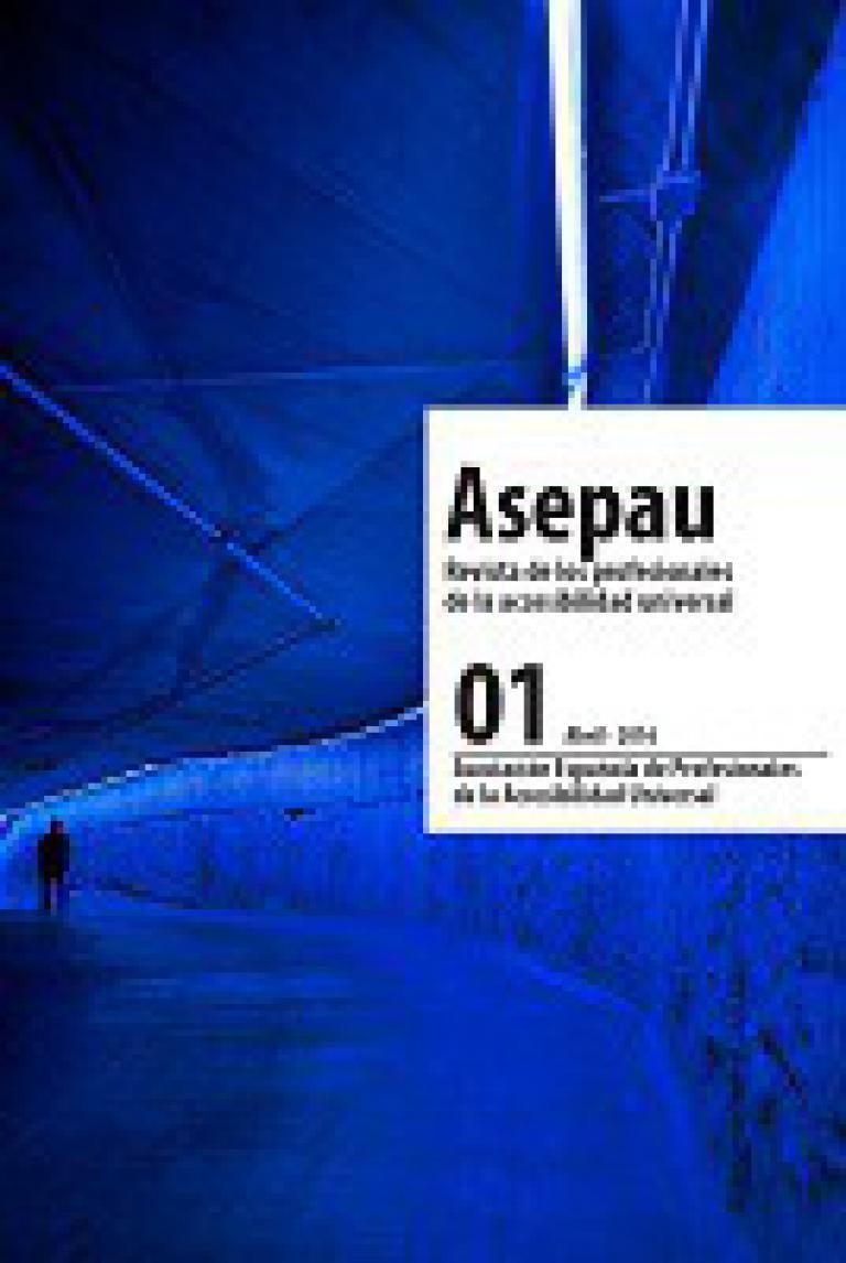 Portada de la revista ASEPAU nº1